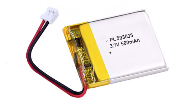 Battery LiPo 500mAh 3.7V