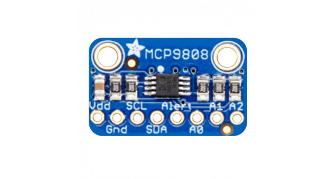 MCP9808 High Accuracy Temperature I2C IIC Sensor Breakout Board new
