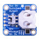 Coin Cell Battery Breakout with On-Off Switch -12mm