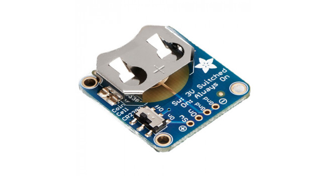 Coin Cell Breakout w/On-Off Switch