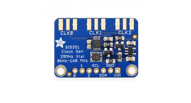 Clock Generator Breakout Board - 8KHz to 160MHz