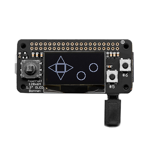 Adafruit OLED Pi Zero Display