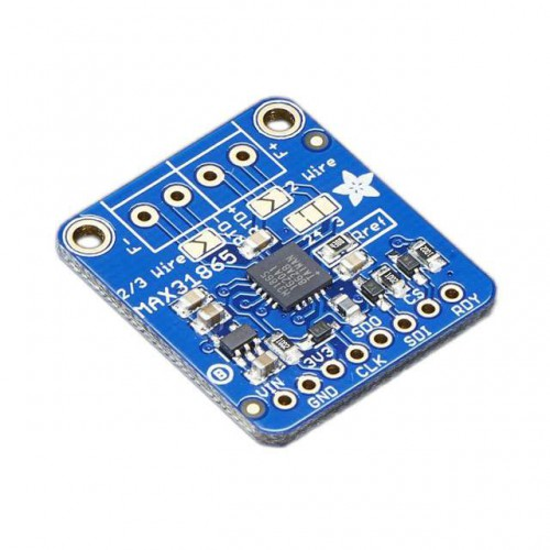 PT100 sensor amplifier MAX31865