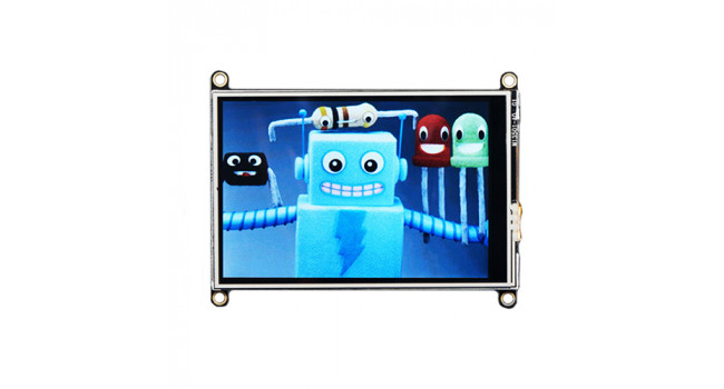 """Adafruit Feather 3.5"""" TFT + Touch"""