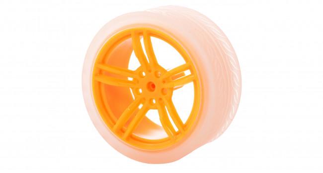 Orange TT Motor Wheel 63x29mm