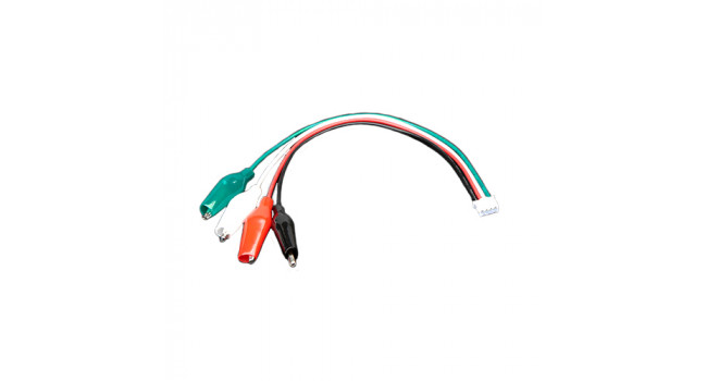 JST PH 4-pin Plug to Alligator Clips