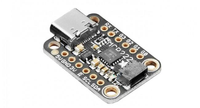 Adafruit USB to GPIO/I2C/Qwiic Connector