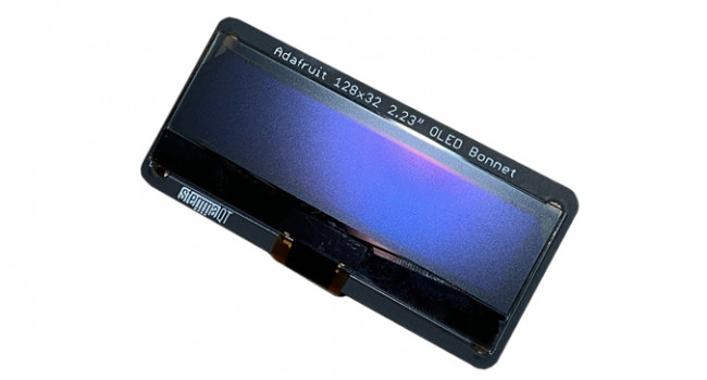 "Adafruit 2.23"" OLED display for Pi Qwicc"