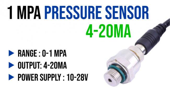XGZ Pressure Sensor 1MPA, 4-20mA
