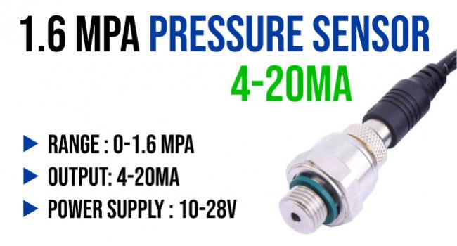 XGZ Pressure Sensor 1.6MPA, 4-20mA