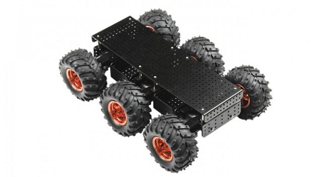 Black Thumper 6WD 75:1 Gear Ratio