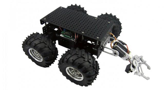 Wild Thumper 4WD + 2DOF Gripper