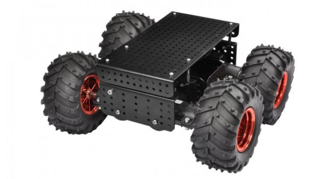 All Terrain Chassis 75:1 Gear Black