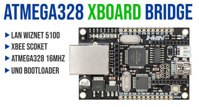 DF Robot, ATMEGA328 XBoard V2 Bridge, Arduino Compatible