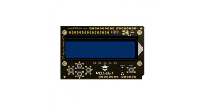 LCD keypad shield V2 for Arduino