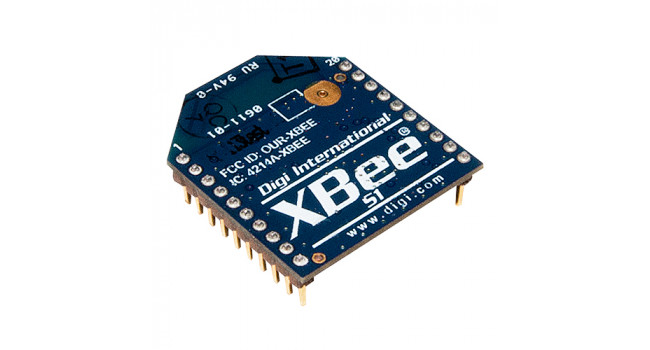 XBee 3.1mW PCB Antenna - DigiMesh 1200m Outdoor Range