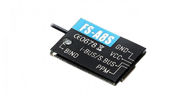 Flysky FS-A8S FS  8CH Mini RX 2.4GHz