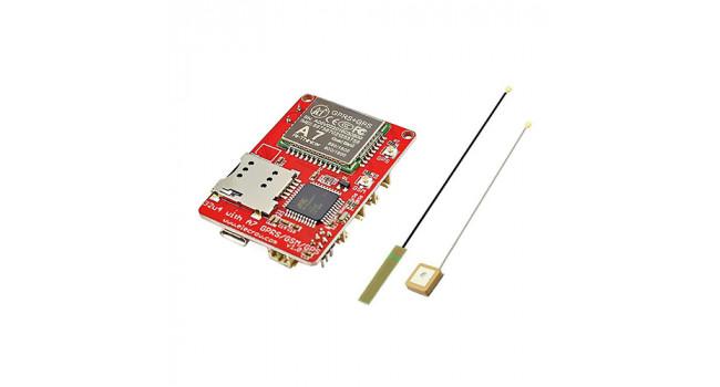 Leonardo 32U4 + A7 GPRS GSM GPS Board