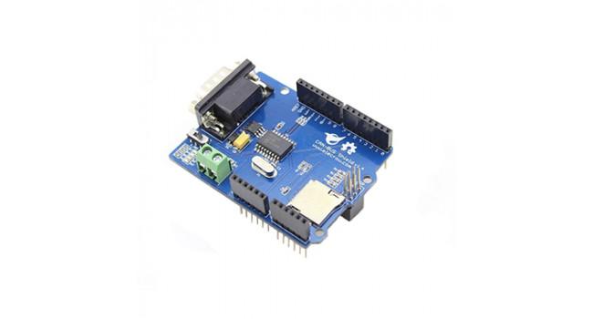 MCP255 CAN BUS Shield + SD Card