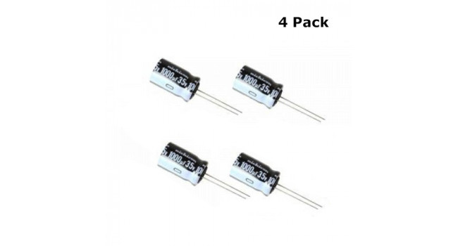 Capacitor 1000uF 35V (4 pack)