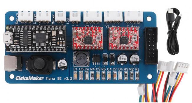 Eleksmaker 2 Axis GBRL Controller