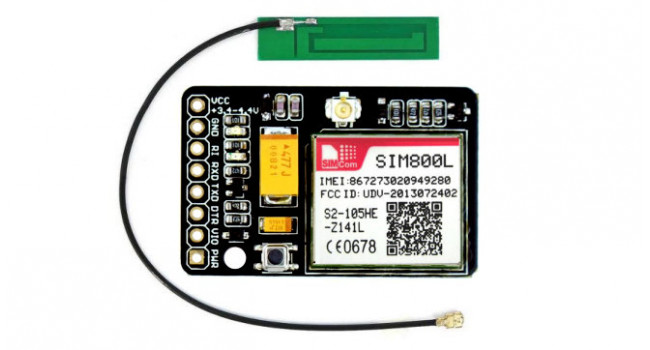 Mini GSM/GPRS Breakout 800L