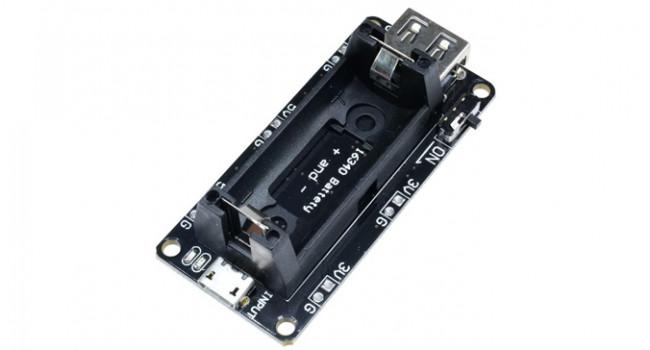 16340 Battery Module - 1 Cell 3.3/5V
