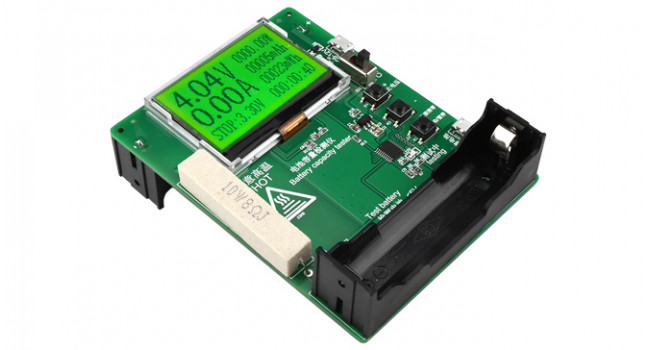 18650 Battery Tester with LCD - 5-12V