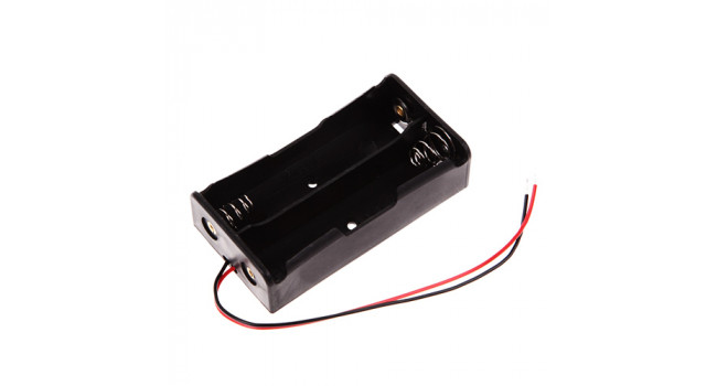 18650 Battery Holder - Wire - 2 Cell