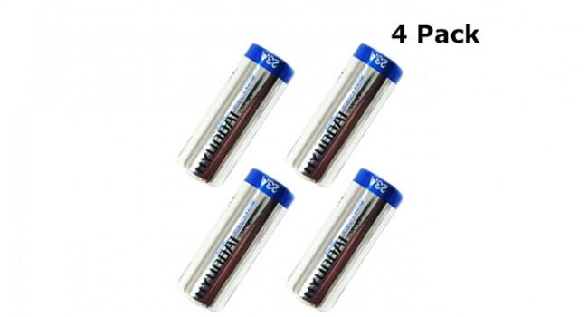 Battery 12V - Size 23A (4 Pack)