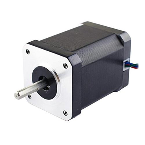 Nema 17 dual shaft stepper motor micro robotics for Double shaft stepper motor