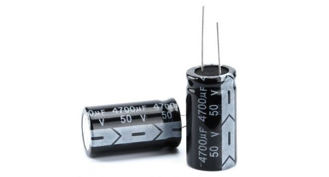 Capacitor 4700uF 50V (2 Pack)