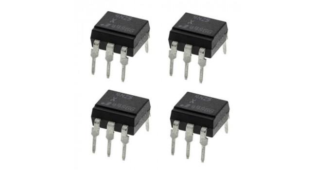Optocoupler 4N25 - Pack of 4