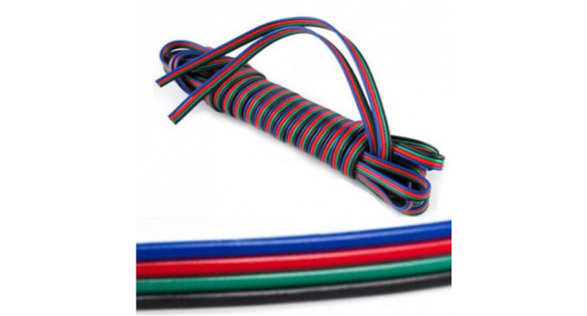 Ribbon 4 Wire- AWG22 (10M)