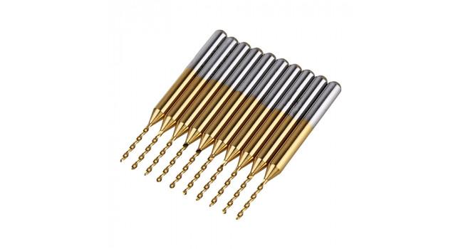TNC 1.0MM Carbide Drill Bit (10 Pack)