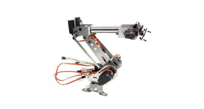 Metal Robot Arm - 6 Axiz