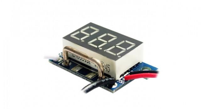 """Mini Amp Meter 0-9A 0.36"""" Blue"""