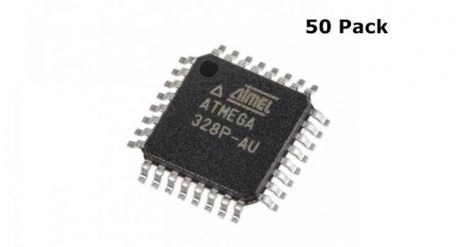 ATMega328P TQFP SMD (50 Pack)