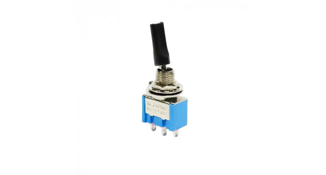 B069C Toggle Switch 250V 3A - Long Lever