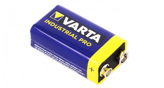 Varta 9V Industrial Battery 550mAh
