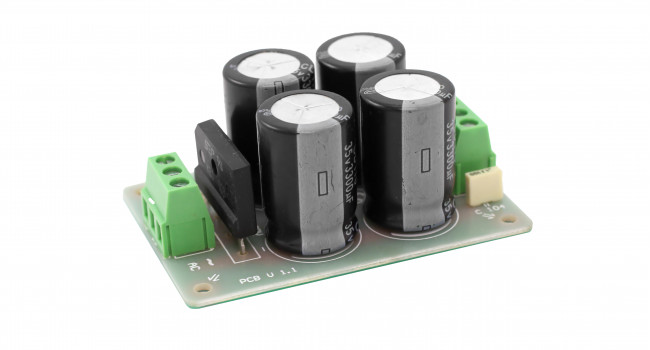 Rectifier Bridge + 4 x 3300uF 35V Kit