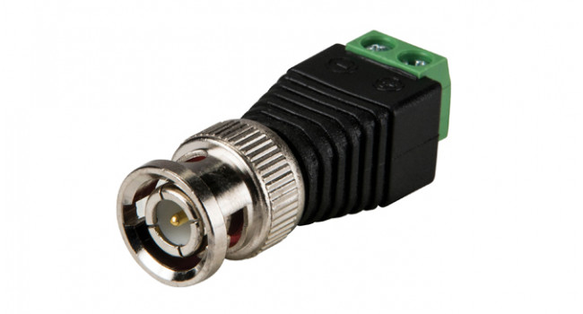 BNC to Terminal Adapter - Male