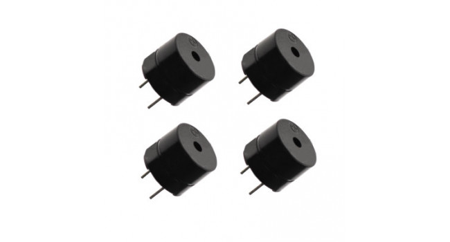 Buzzer 5V Low Profile PCB (4 Pack)