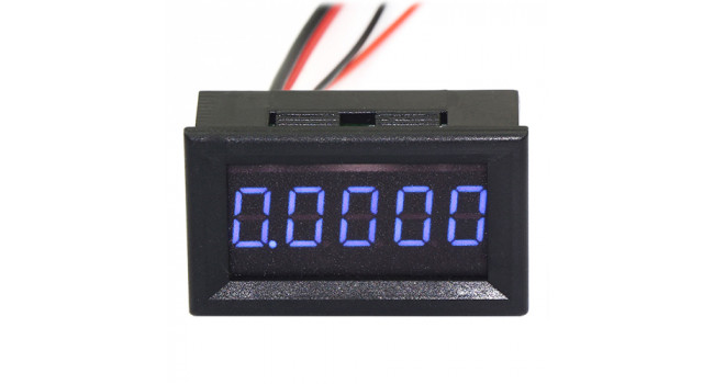 "Meter 0-30V 0.36"" 5 Digit - Blue"