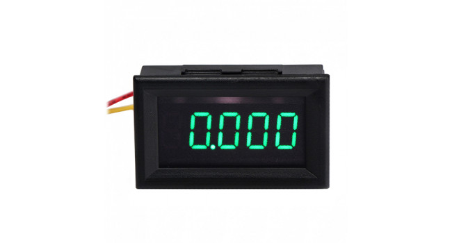 "Meter 0-5A 0.36"" 5 Digit - Green"