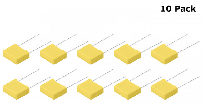 Polyester Capacitor 100nF (10 Pack)