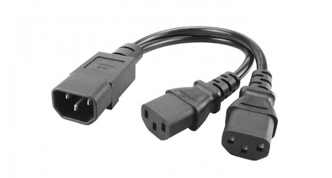 Power Cord Splitter C14-C13