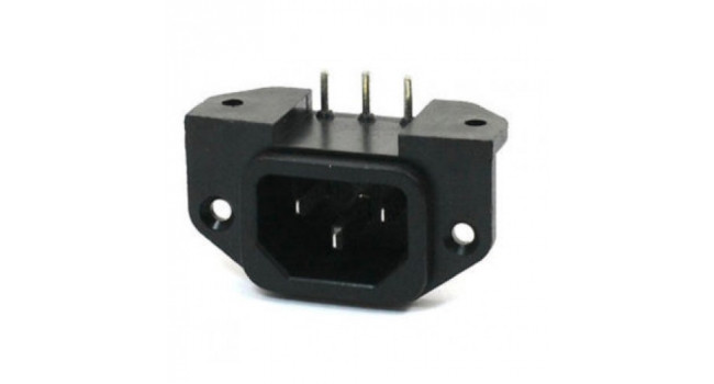 C14 Power Connector - PCB Mount - Female