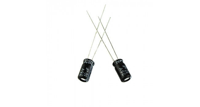 Capacitor 10uF 25V (10 Pack)