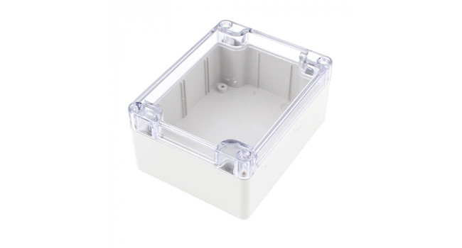 Enclosure IP65 - 115 X 90 X 55 - Beige - Clear